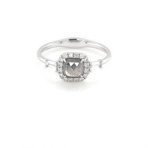 18K WHITE GOLD DIAMOND SLICE RING_0