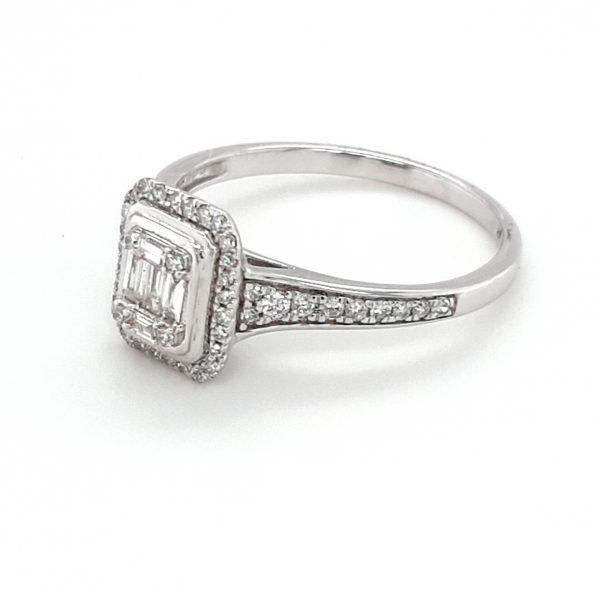 9K WHITE GOLD DIAMOND RING_1