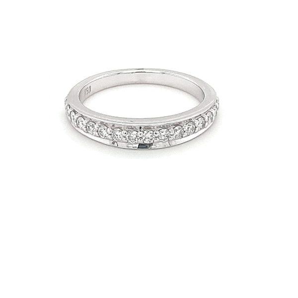 18K WHITE GOLD DIAMOND WEDDING RING_0