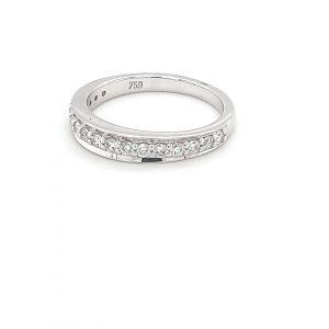18K WHITE GOLD DIAMOND WEDDING RING_1