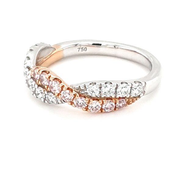 WHITE AND ROSE GOLD ARGYLE PINK DIAMOND TWIST_1