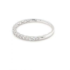 9K WHITE GOLD ANNIVERSARY RING. IGR-37419-025_1
