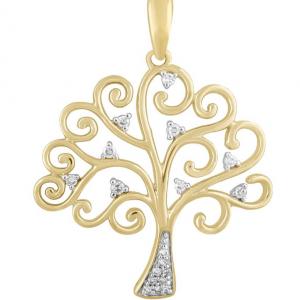 9K YELLOW GOLD TREE OF LIFE_0