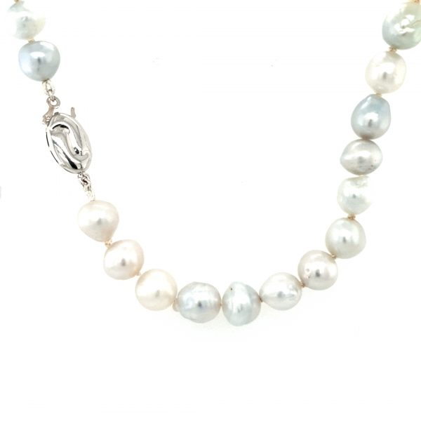 9K WHITE GOLD AND ABROLHOS PEARL STRAND_0
