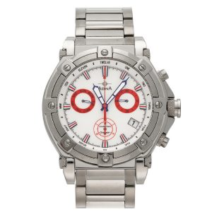 Gents OCEANEER Stainless Steel CHRONO White Index GW10 S1XB_0