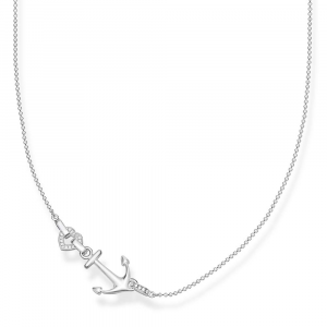 """NECKLACE """"ANCHOR WITH HEART""""_0"""