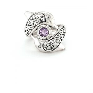 STIRLING SILVER DOLPHIN RING_0