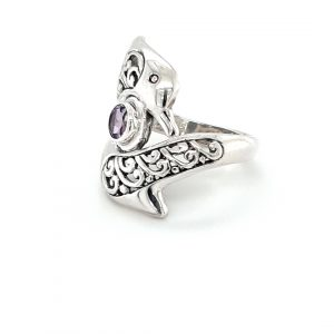 STIRLING SILVER DOLPHIN RING_1