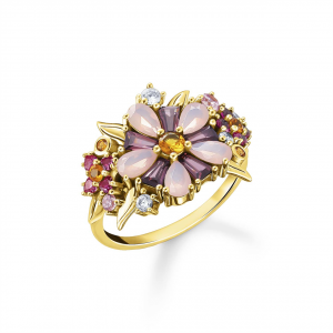 GOLD RING OF FLOWERS_0