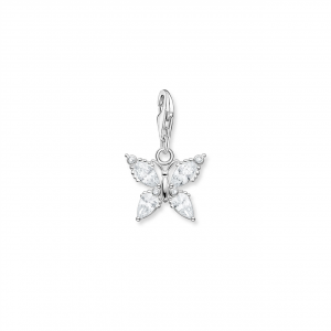 CHARM PENDANT BUTTERFLY SILVER_0