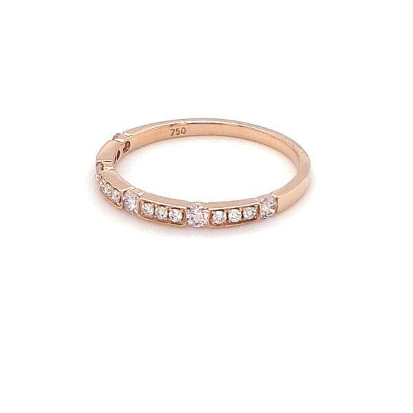 18K ROSE GOLD WEDDING RING WITH ARGYLE PINK DIAMONDS_1