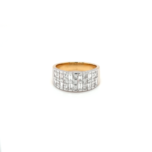 Leon Bakers 18K White and Yellow Gold Diamond Dress Ring_0