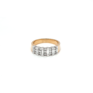 Leon Bakers 18K Yellow and White Gold Diamond Ring_0