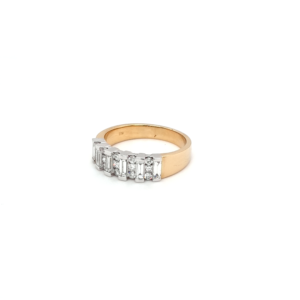 Leon Bakers 18K Yellow and White Gold Diamond Ring_1