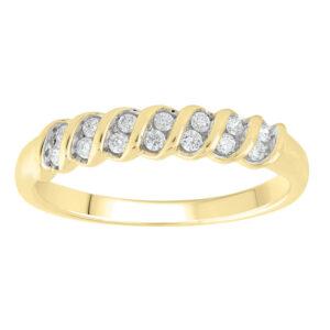 Royal Diamond Swirl Style Diamond Ring_0
