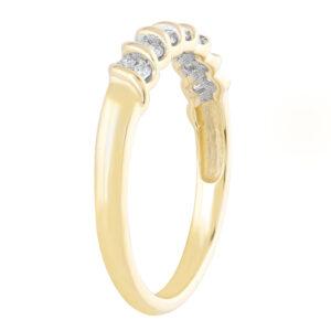 Royal Diamond Swirl Style Diamond Ring_1