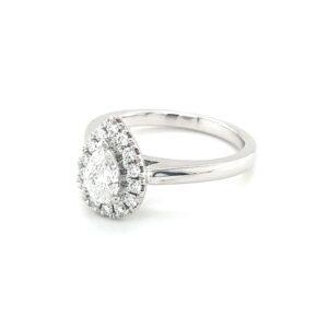 Leon Baker's 18K White Gold Diamond Engagement Ring_1