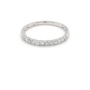 Leon Bakers White Gold Diamond Wedding Ring_0