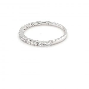 Leon Bakers White Gold Diamond Wedding Ring_1