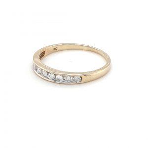 Royal Diamond Yellow Gold DIamond Ring_1