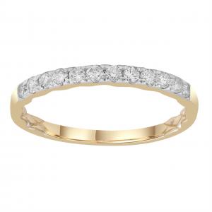 Royal Diamond Yellow Gold Diamond Ring_0