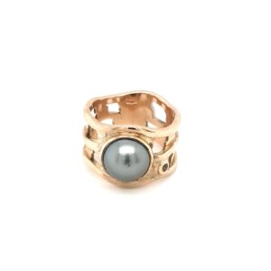 Coral Bay Collection Half Pearl Ring_0