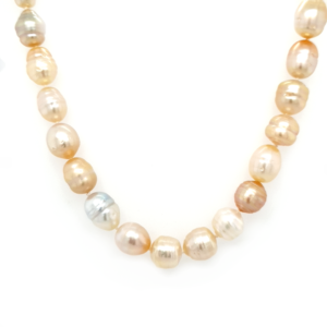 Leon Bakers 9K Yellow Gold South Sea Pearls on Strand_0