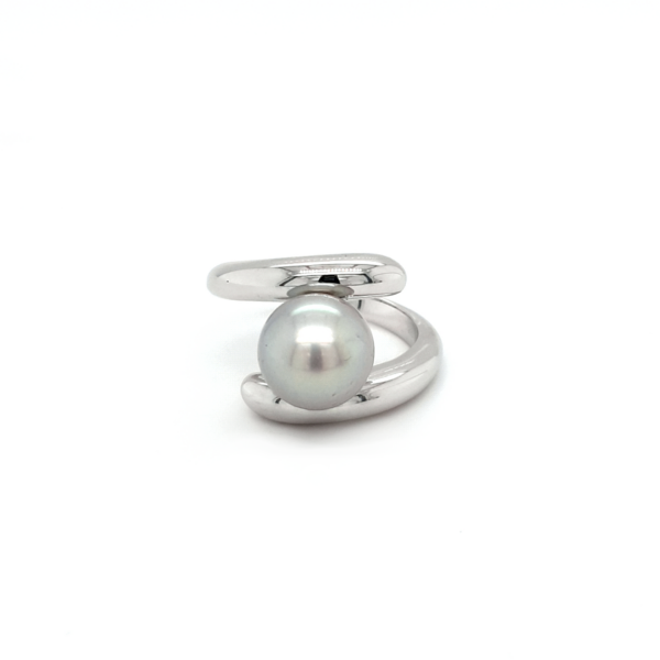 Leon Bakers Sterling Sliver Abrolhos Pearl Ring_0
