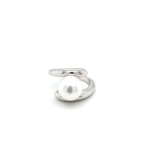 Leon Bakers Sterling Silver Broome Pearl Ring_0