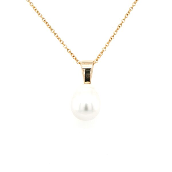 Leon Bakers 9K Yellow Gold Broome Pearl Pendant_0