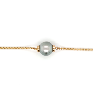 Leon Bakers 9K Yellow Gold Abrolhos Pearl Bracelet_0
