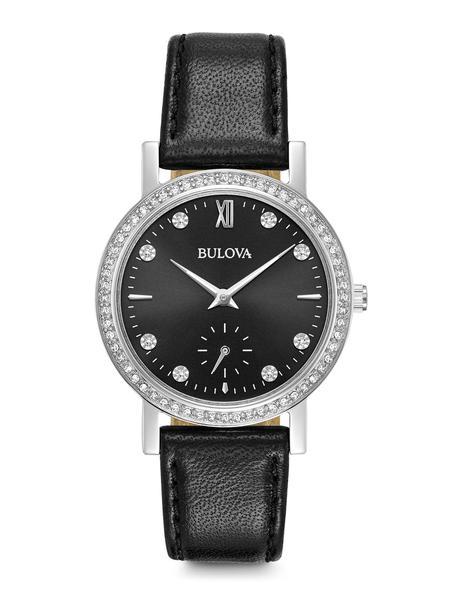 Bulova Ladie's Crystal Watch_0