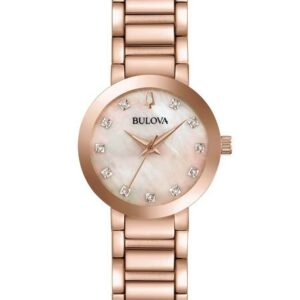 Bulova Ladie's Modern Diamond Watch_0