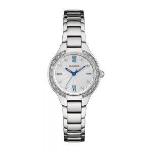 Bulova Ladies Diamond Bracelet Watch 96B208_0