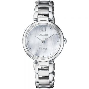 Citizen Eco-Drive Ladies Stirling Silver Watch_0