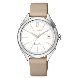 Citizen Eco-Drive Ladies Silver and Pink Watch_0