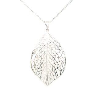 Leon Baker Stirling Silver Leaf_0