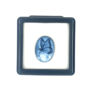 Leon Bakers Blue Butterlfy Cameo_1