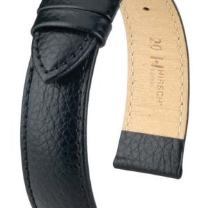 Hirsch Kansas Black Leather Band_0