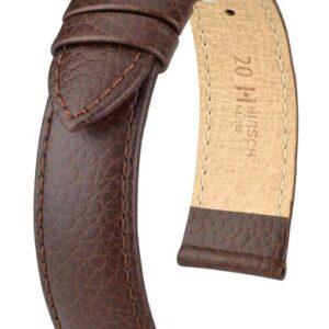 Hirsch Kansas Brown Leather Band_0