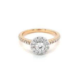 Leon Baker 18K Yellow Gold Diamond Ring_0