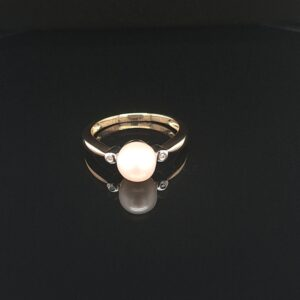 Leon Bakers 9K Yellow Gold Pearl Ring_1