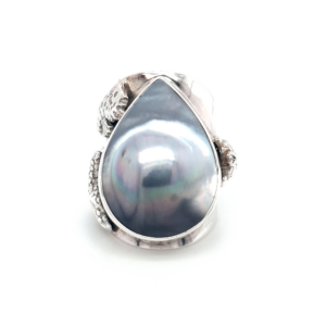 Leon Baker Coral Bay Sterling Silver Abrolhos Pearl Ring_0