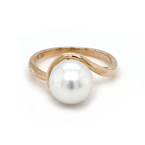 Leon Baker 9K Yellow Gold Broome Pearl Ring_0
