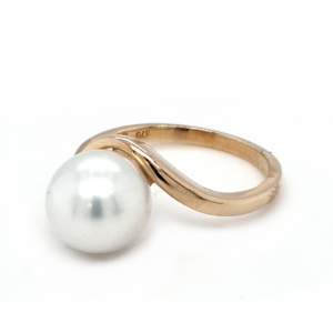 Leon Baker 9K Yellow Gold Broome Pearl Ring_1