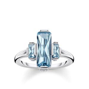 Thomas Sabo Blue Stone Ring_0
