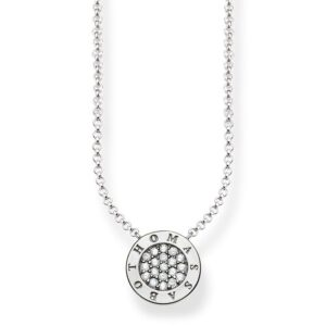 Thomas Sabo Sterling Silver Pave Necklace_0