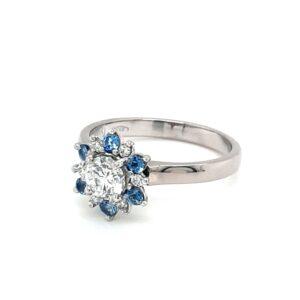 "Leon Baker ""Snow Flake"" Diamond Ring_0"