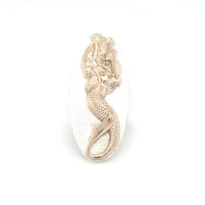 Coral Bay Collectiong Sterling Silver and Gold Mermaid Ring_0