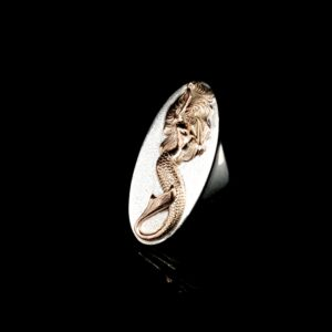 Coral Bay Collectiong Sterling Silver and Gold Mermaid Ring_1